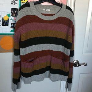 MW Striped Sweatshirt